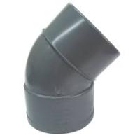 CODO PVC S M H 160 45   ENCOLAR