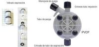 REP CUERPO DE BOMBA D 44 PVDF PP AZ 15 20