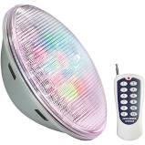 FOCO PISC LAMPARA LEDS 11 COLORES C MANDO