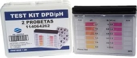 TEST KIT DPD PH CL BR 2 PROBETAS